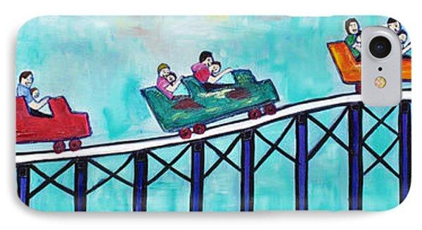 Roller Fun Phone Case by Patricia Arroyo