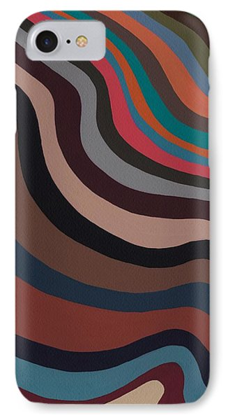 Rolling Waves IPhone Case by Sarah Gillard