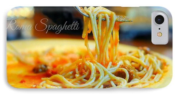 Roma Spaghetti IPhone Case by Diana Angstadt