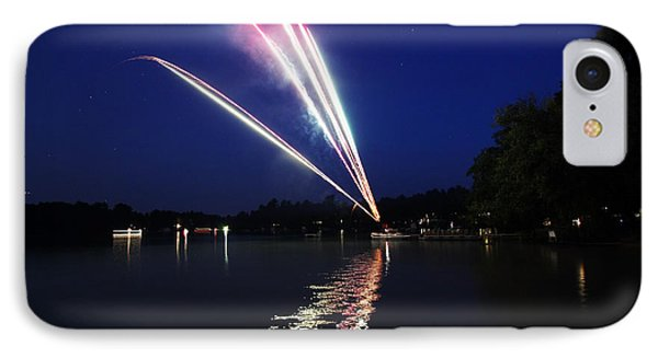 Roman Candle IPhone Case by Ty Helbach