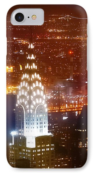 Romantic Manhattan IPhone Case by Az Jackson
