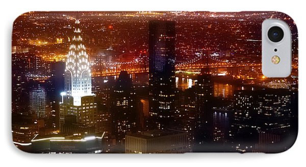 Romantic Skyline IPhone Case by Az Jackson