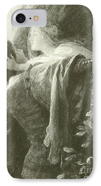 Romeo And Juliet IPhone Case by Frank Dicksee