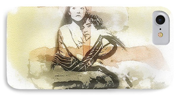 Romeo And Juliet IPhone Case by Mo T