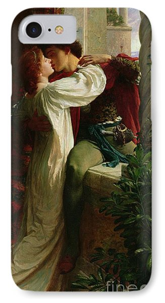 Romeo And Juliet IPhone Case by Sir Frank Dicksee