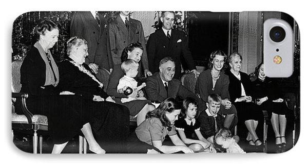 Roosevelt: Family, 1939 IPhone Case by Granger