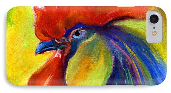 Rooster Painting Phone Case by Svetlana Novikova