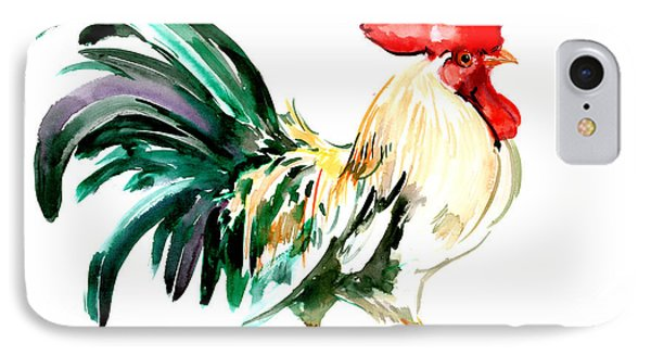Rooster IPhone 7 Case by Suren Nersisyan