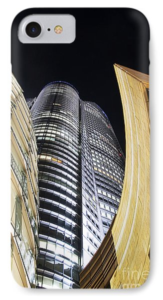 Roppongi Hills Mori Tower Phone Case by Bill Brennan - Printscapes