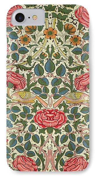 Rose IPhone 7 Case by William Morris