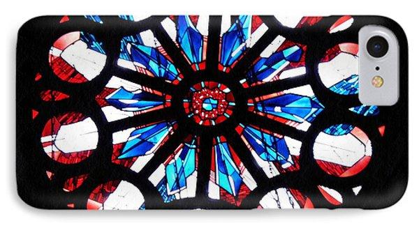 Rose Window St Boniface Church IPhone Case by Sarah Loft