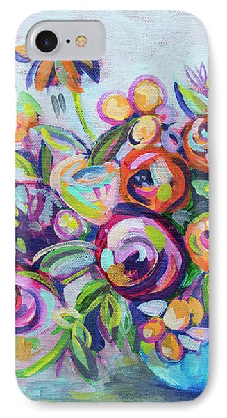Roses And Kumquats IPhone 7 Case by Kristin Whitney