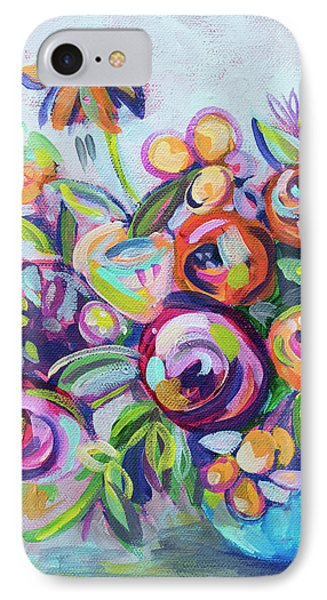 Roses And Kumquats IPhone Case by Kristin Whitney