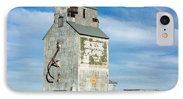 Ross Fork Grain Elevator IPhone Case by Todd Klassy