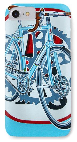 Rourke Bicycle IPhone Case by Mark Howard Jones