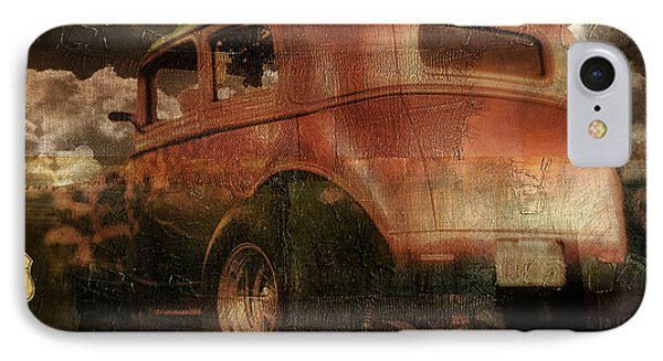Route 66 IPhone Case by Mindy Sommers
