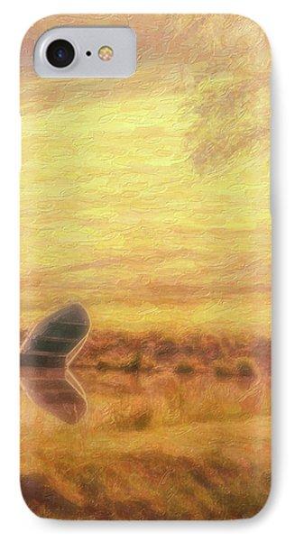 Rowboat IPhone Case by Tom Mc Nemar