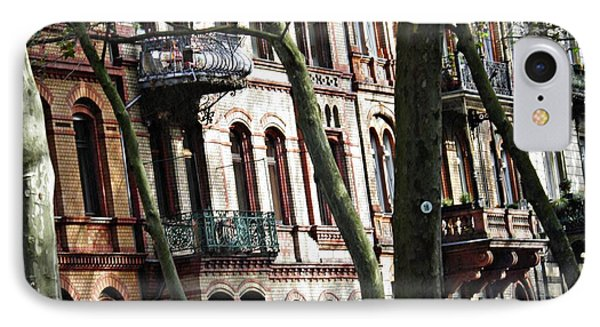Rowhouses In Wiesbaden 1  IPhone Case by Sarah Loft