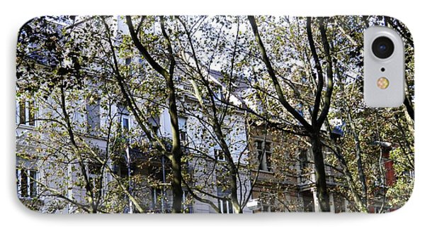 Rowhouses In Wiesbaden 2 IPhone Case by Sarah Loft