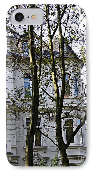 Rowhouses In Wiesbaden 3 IPhone Case by Sarah Loft