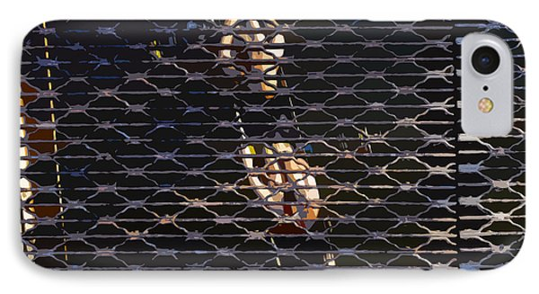 Rowing Through The Grate Phone Case by David Lee Thompson