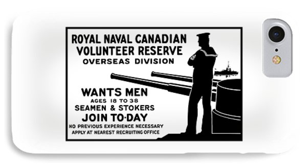 Royal Naval Canadian Volunteer Reserve IPhone Case by War Is Hell Store