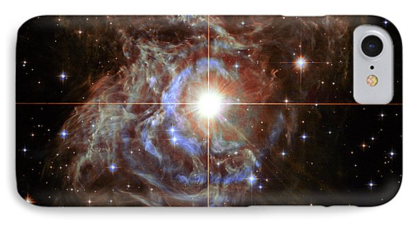 Rs Puppis Super Star IPhone Case by Mark Kiver