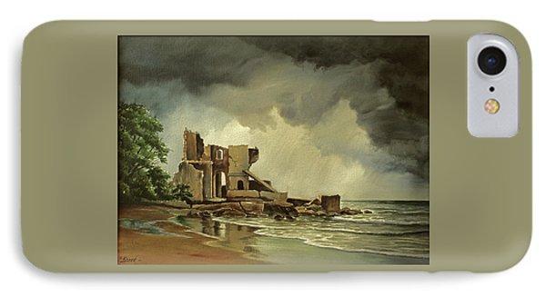 Ruins Near Kenosha IPhone Case by Paul Krapf