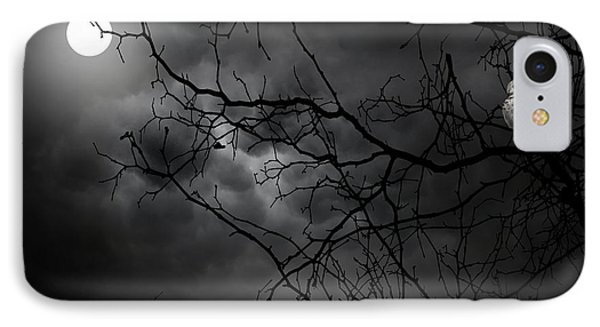 Ruler Of The Night IPhone Case by Lourry Legarde