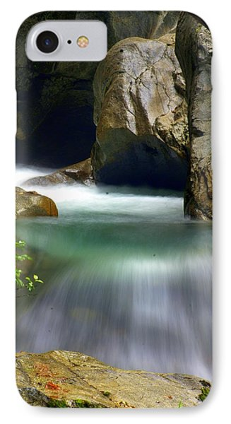 Rushing Water Phone Case by Marty Koch
