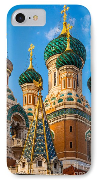 Russian Cupolas IPhone Case by Inge Johnsson