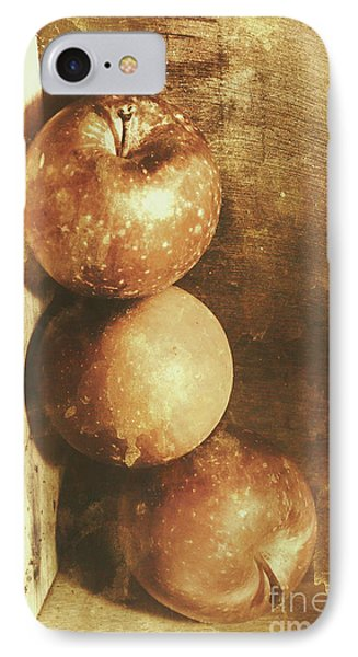 Rustic Old Apple Box IPhone Case by Jorgo Photography - Wall Art Gallery