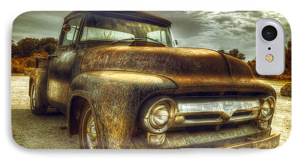 Rusty Truck IPhone 7 Case by Mal Bray