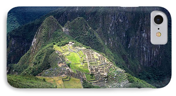 Sacred City Of Machu Picchu Phone Case by James Brunker