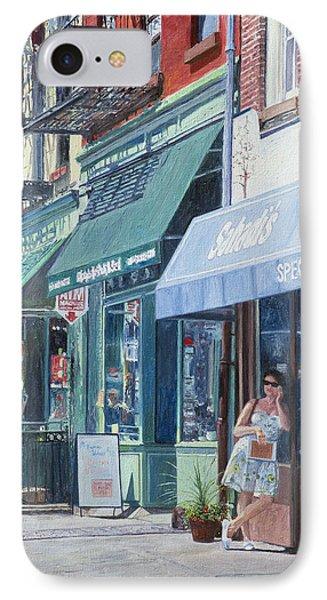 Sahadis Atlantic Avenue Brooklyn IPhone Case by Anthony Butera
