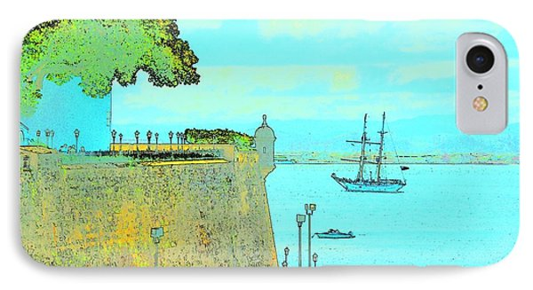 Sail On IPhone Case by Tito Santiago