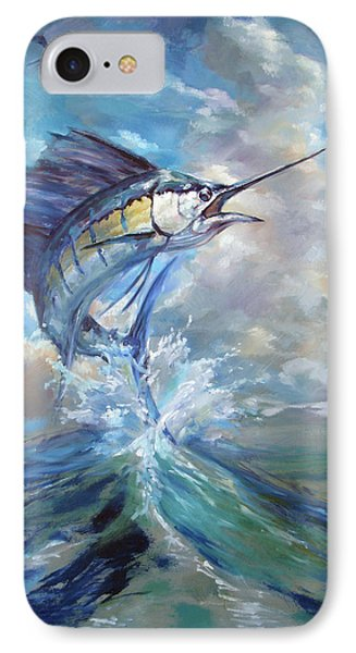 Sailfish And Frigate IPhone 7 Case by Tom Dauria