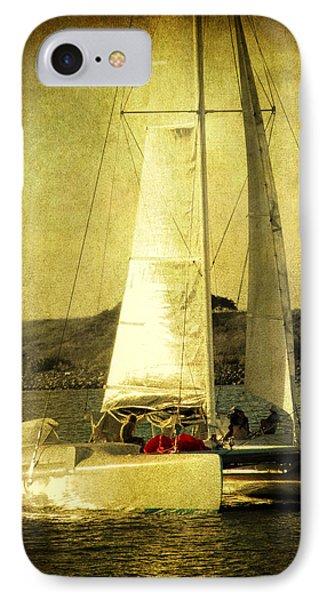 Sailing Away Phone Case by Susanne Van Hulst