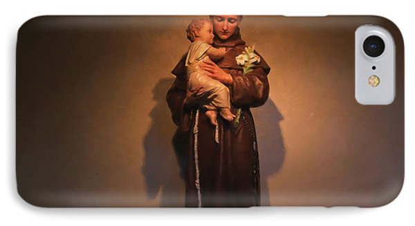 Saint Anthony IPhone Case by Donna Kennedy