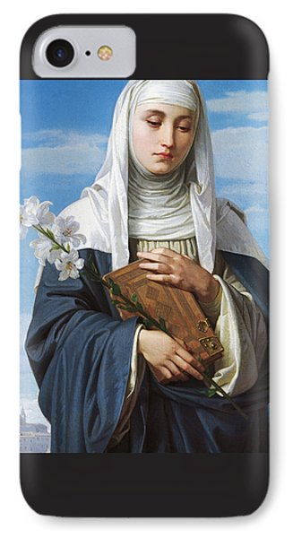 Saint Catherine Of Siena IPhone Case by Alessandro Franchi