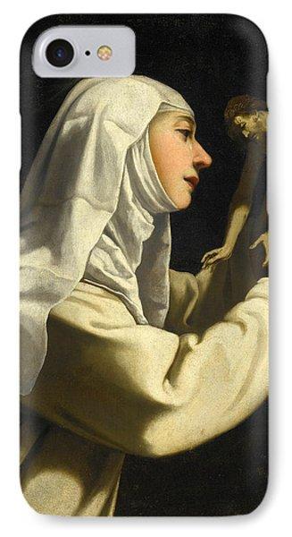 Saint Catherine Of Siena IPhone Case by Rutilio Manetti