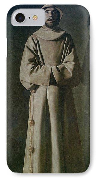 Saint Francis Phone Case by Francisco de Zurbaran