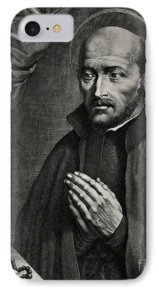 Saint Ignatius Of Loyola IPhone Case by German School