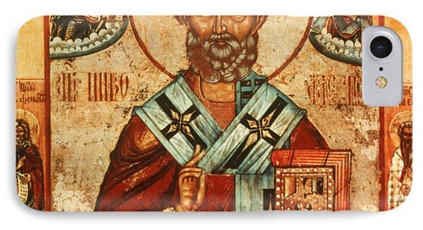 Saint Nicholas IPhone Case by Granger