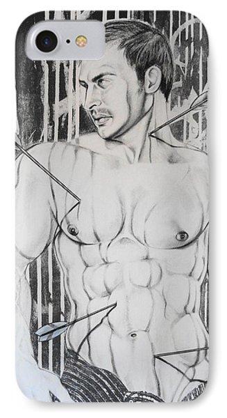 Saint Sebastian  2 Phone Case by Carmine Santaniello