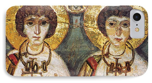 Saints Sergius And Bacchus IPhone Case by Granger