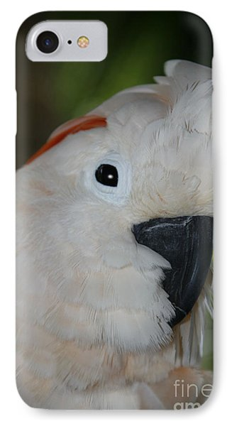 Salmon Crested Cockatoo IPhone 7 Case by Sharon Mau