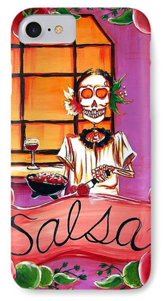 Salsa IPhone Case by Heather Calderon