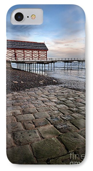 Saltburn By The Sea IPhone Case by Nichola Denny