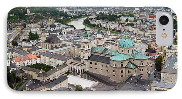 Salzburg Panoramic Phone Case by Adam Romanowicz